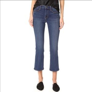 NWT L'AGENCE Serena crop baby flare  jeans Sz 30